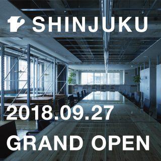 12[12 SHINJUKU]新宿駅直結。リビタのシェアオフィス